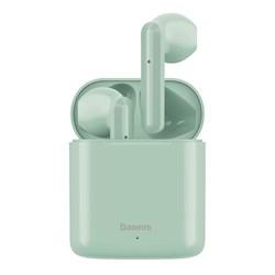 Беспроводные наушники Baseus Encok True Wireless Earphones W09 мятный (NGW09-06) - фото 18438
