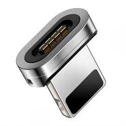 Магнитный адаптер для кабеля Lightning Baseus Zinc Magnetic interface (CALXC-E) - фото 18511