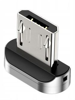 Магнитный адаптер для кабеля MicroUSB Baseus Zinc Magnetic interface (CAMXC-E) - фото 18518