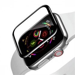 Защитное стекло Baseus Full-screen Curved Tempered Film для Apple Watch series 4 / 5 / 6 40mm черный (SGAPWA4-G01) - фото 18583