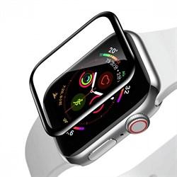 Защитное стекло Baseus Full-screen Curved Tempered Film для Apple Watch series 4/5 44mm черный (SGAPWA4-H01) - фото 18596