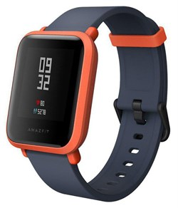 Смарт-часы Xiaomi Huami Amazfit Bip (Global Version) красный киноварь - фото 18747
