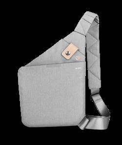 Сумка через плечо WiWU Cross Body Bag серая - фото 18931
