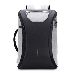 Умный рюкзак WiWU VIYOHO FIPILOCK FL-V2 с встроенным смарт-замком отпечатков пальца серый - фото 18936