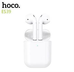 Беспроводные наушники Hoco ES39 белые - фото 19045