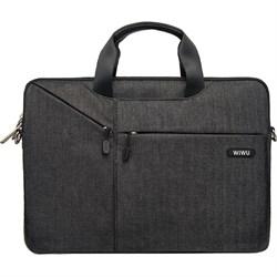 """Сумка для ноутбука WiWU Gent Businnes Handbag 15.4"""" черный - фото 19103"""