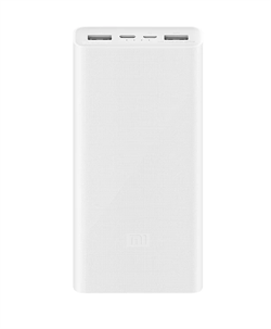 Внешний аккумулятор Xiaomi Power Bank 3 USB-C 20000 mAh (PLM18ZM) белый - фото 19314