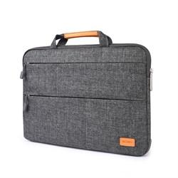 "Сумка для ноутбука WIWU Smart Standart Sleeve 15.4"" для Macbook Pro серый - фото 19815"