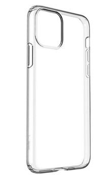 Силиконовый чехол Fashion Case для Apple iPhone 11 прозрачный - фото 19962