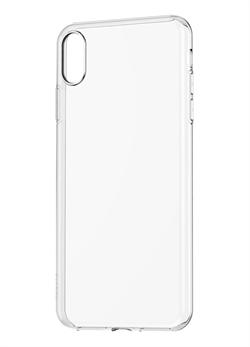 Силиконовый чехол Fashion Case для Apple iPhone X/XS прозрачный - фото 19965