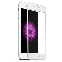 Стекло защитное для Apple iPhone 6/6S/7/8 Mietubl 0,33mm 5D белый - фото 20008