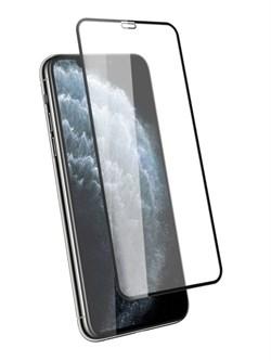 Стекло защитное для Apple iPhone X/XS/11 Pro Mietubl 0,33mm черный - фото 20012