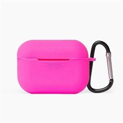 Чехол-футляр для Apple АirPods Pro розовый - фото 20076