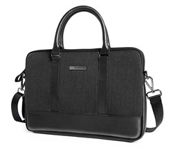 """Сумка для ноутбука WiWU London Slim Case 15.4"""" черный - фото 20091"""