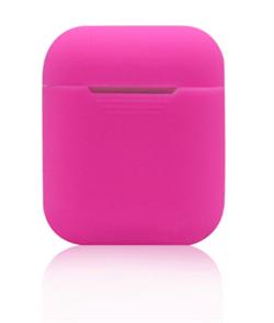 Чехол-футляр для Apple Airpods case Cheap silicone розовый - фото 20092