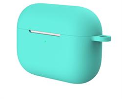 Чехол-футляр для Apple АirPods Pro зеленый - фото 20383