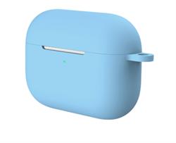 Чехол-футляр для Apple АirPods Pro голубой - фото 20385