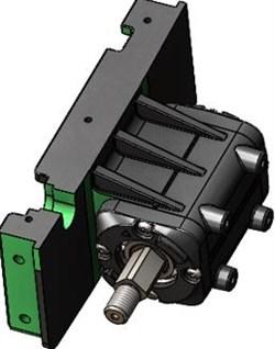 Задняя подвеска для Inokim OX/OXO в сборе - фото 20437