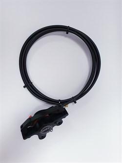 Комплект гидравлического тормоза для электросамоката/электровелосипеда Zoom HB-875E (125 см) правая ручка - фото 20441