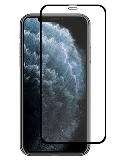 Стекло защитное для Apple iPhone XR/11 Mietubl 0,33mm 11D черный - фото 20472
