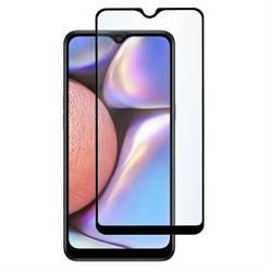 Стекло защитное для Samsung Galaxy A20S Mietubl 0,33mm черный - фото 20511