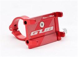 GUB G-81 вело держатель смартфона красный - фото 20652
