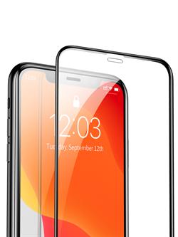 Стекло защитное MTB для Apple iPhone XR/11 0,33mm черный - фото 20709