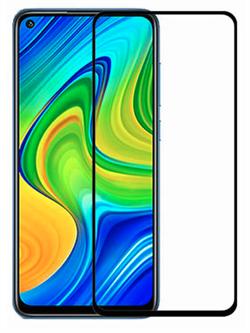 Стекло защитное MTB для Xiaomi Redmi Note 9 0,33mm черный - фото 20724
