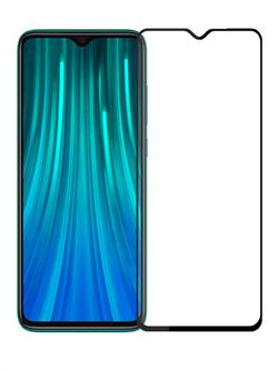 Стекло защитное MTB для Xiaomi Redmi Note 8 Pro 0,33mm черный - фото 20740