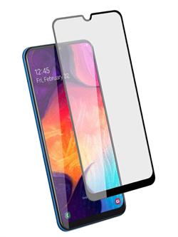 Стекло защитное MTB для Samsung A30/A30S/A50/A50S/M30/M30S/M21 0,33mm черный - фото 20741