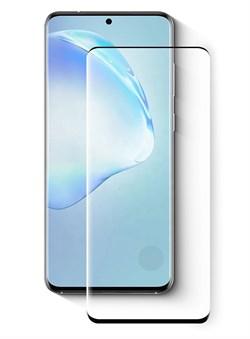 Стекло защитное MTB для Samsung Galaxy S20 5D 0,33mm с сенсорным окном черный - фото 20844
