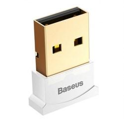 Bluetooth адаптер Baseus USB Bluetooth 4.0 белый (CCALL-BT02) - фото 21009