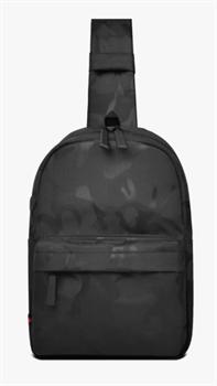Сумка через плечо WiWU Vigor crossbody bag черный камуфляж - фото 21026