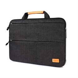 """Сумка для ноутбука WIWU Smart Stand Sleeve 13.3"""" для Macbook Air черный - фото 21047"""
