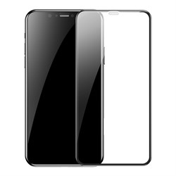Защитное стекло для iPhone XS Max/11Pro Max Baseus Full Coverage Curved Tempered Glass Protector 2pcs (SGAPIPH65S-KC01) - фото 21396