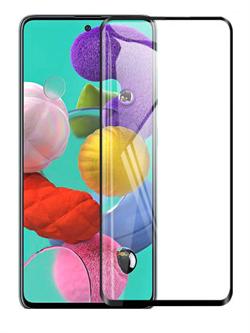 Стекло защитное MTB для Samsung A51/M31S 0,33mm черный - фото 21542