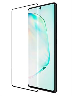 Стекло защитное MTB для Samsung A71/A81/A91/NOTE 10 LITE 0,33mm черный - фото 21543