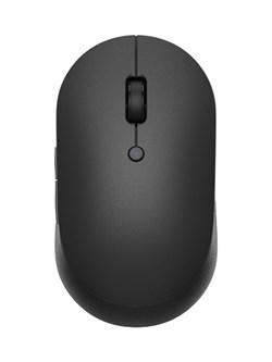 Беспроводная мышь Xiaomi Mi Dual Mode Wireless Mouse Silent Edition (WXSMSBMW02) черный - фото 21559