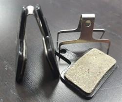 Колодки тормозные Inokim OXO передние/ задние комплект 2шт с пружиной (оригинал) - фото 21634