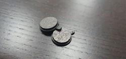 Колодки тормозные задние для электросамоката Inokim Quick2 / Quick3 комплект 2шт. (оригинал) - фото 21635