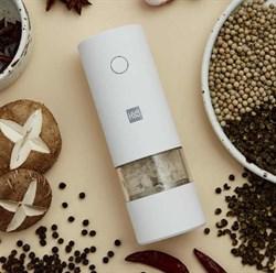 Мельница для специй электрическая Xiaomi HuoHou Electric Grinder перец / соль, белый цвет - фото 21753