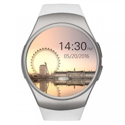 Смарт-часы KingWear KW18 серебро - фото 21783