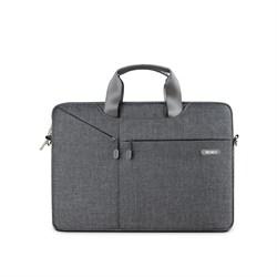 """Сумка для ноутбука WiWU City Business Commuter Bag 13.3"""" серый - фото 22056"""