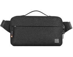 Поясная сумка WiWU Alpha Crossbody Bag черный - фото 22210