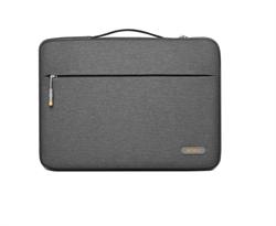 Чехол-сумка WiWU Pilot Laptop Sleeve для ноутбука 15,4'' серый - фото 22220