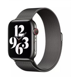 Ремешок для Apple Watch WIWU миланская петля 42/44 mm Black - фото 22263