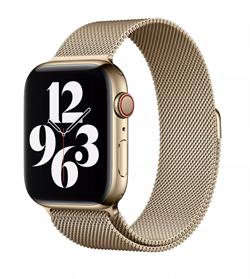Ремешок для Apple Watch WIWU миланская петля 42/44 mm Gold - фото 22265