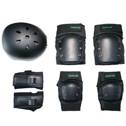 Комплект защиты Inokim (Шлем, наколенники, налокотники, наладонники) - фото 6787