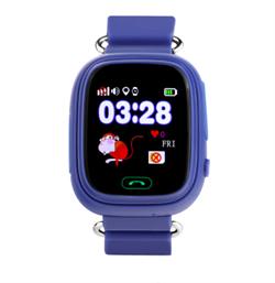 Wonlex GW100 детские смарт-часы с GPS трекером синий