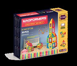 Магнитный конструктор MAGFORMERS 30 My First 702001 (63107) - фото 7495